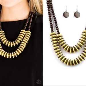 Paparazzi Accessories Jewelry - Mixed Wooden Necklace Set - Fashion Accessories